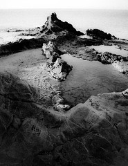 El Pulpo (domimb_) Tags: costa canon mar andalucia amanecer nocturna canoneos almeria cabodegata cala rocas nijar canon400d calaraja