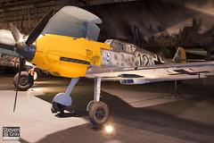 DG200 - 4101 - RAF Museum - Messerschmitt Bf-109E-3B - 080203 - Hendon - Steven Gray - IMG_7347
