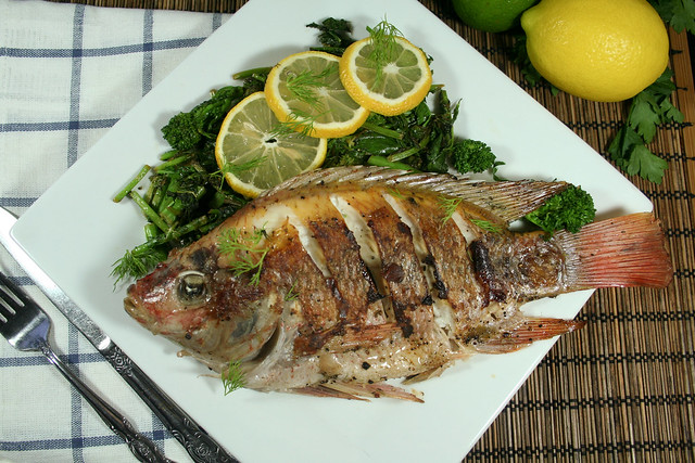 how to prepare fish in a pan