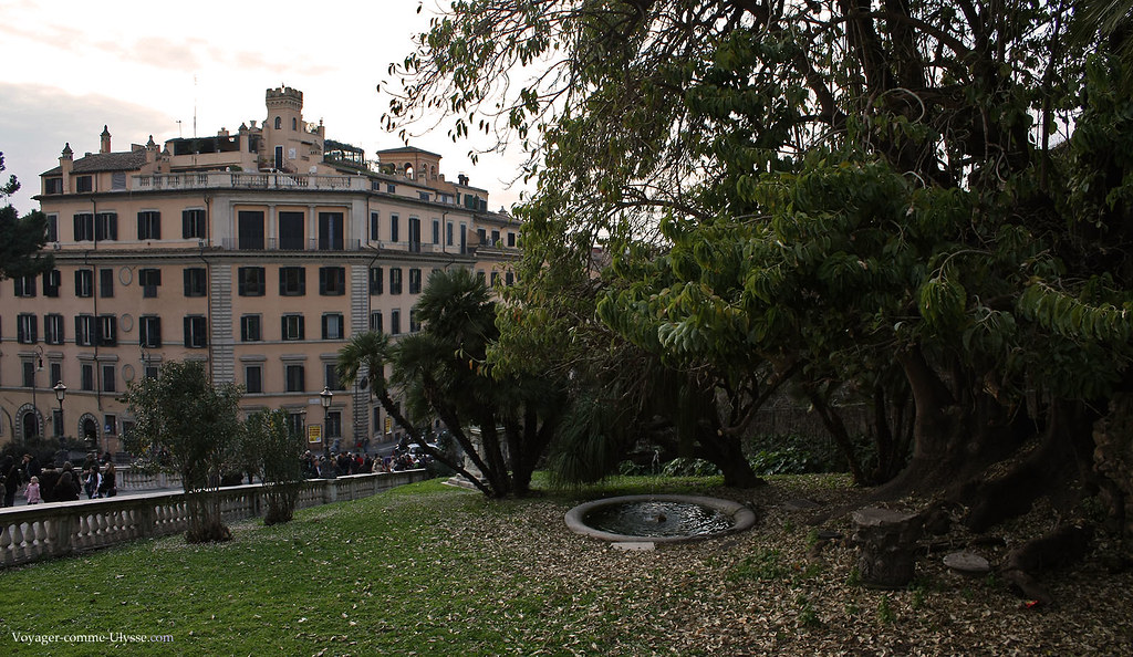 Un petit jardin du Capitole