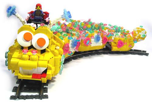 LEGO Clickipiller Train Megan Rothrock