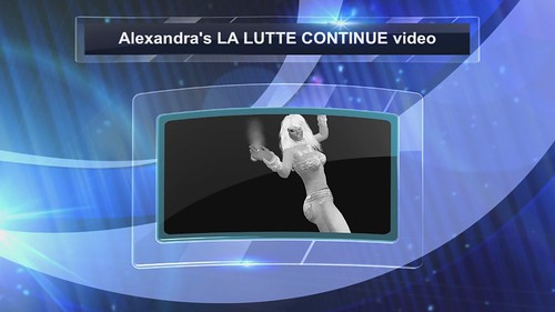 Alexandra's La lutte continue video