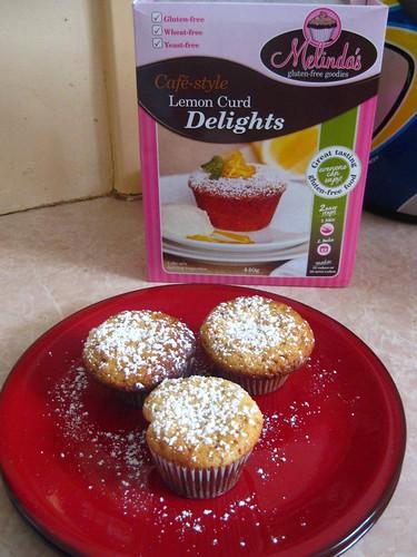 Melinda's Gluten Free Goodies - Lemon Curd Delights