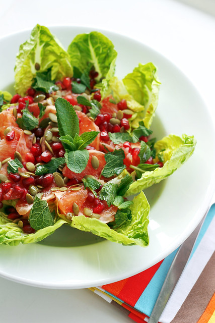 172 Grapefruit, Pomegranade and Lettuce