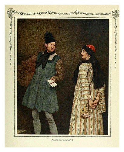 005-Jessica y Lancelot-Shakespeare's comedy of the Merchant of Venice 1914- James D. Linton