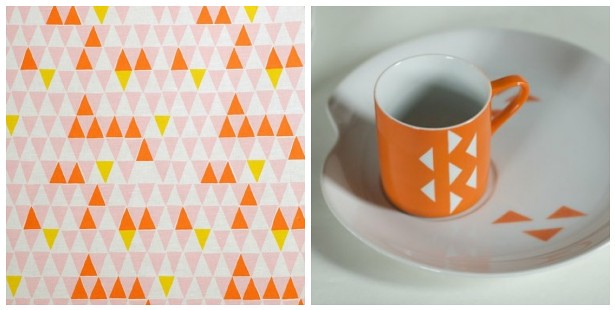 Orange + Triangles = Happy