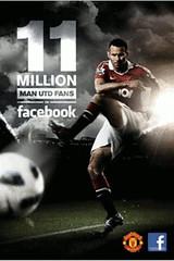ManUtd 11 MillioFacebok Fans