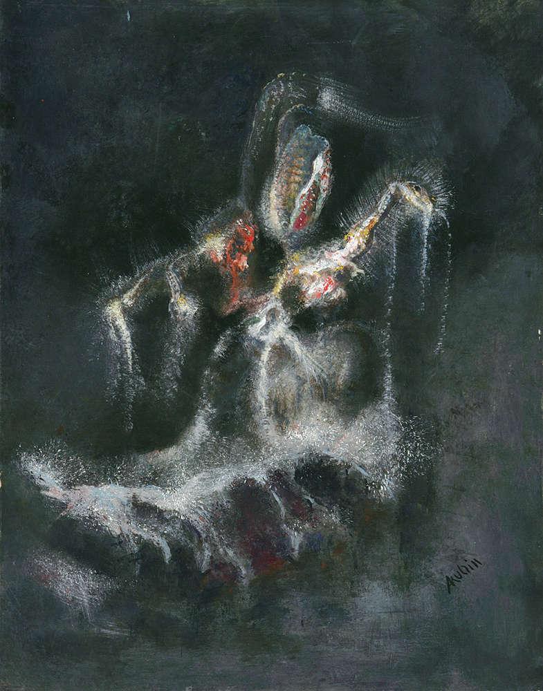 Alfred Kubin - Mythical Animal,1905/06
