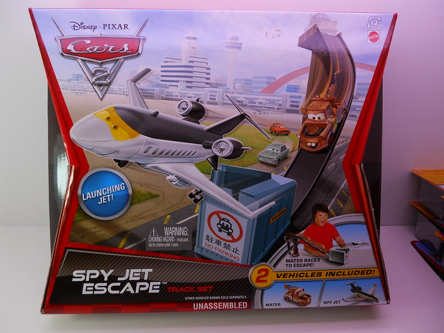 disney cars 2 spy jet escape track set (1)