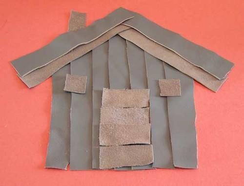 #92- Suede scrap house