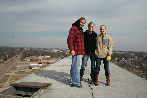 Jay, Lisa, and Renae on top