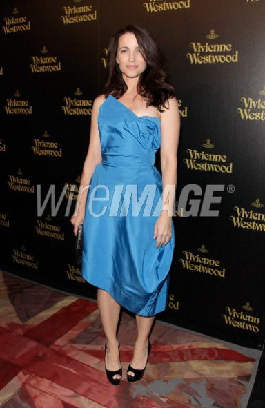Kristen Davies in Vivienne Westwood Gold Label Couture