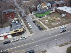 Trumbull and Merrick Aerial Photo