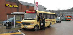 Clowes Coach Travel - T459 JRH - One last loading... (Peter-Smith) Tags: busstation clowes dg congleton