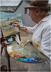 Artist at St Ives. (Rory Trappe) Tags: stives artist cornwall kernow therifehouse