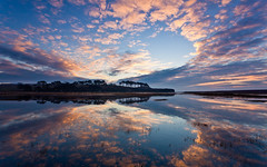 IMG_7884.jpg (Bruce Little) Tags: uk england southwest silhouette sunrise europe estuary coastal devon redsky cloudysky hightide riverotter budleighsalterton eastdevon jurassiccoast southwestcoastpath mirrorwater ottertonledge