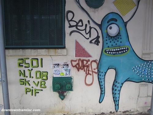 Street art on Houston Street