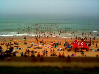 Happy Australia day from Cronulla beach! #iPhoneography