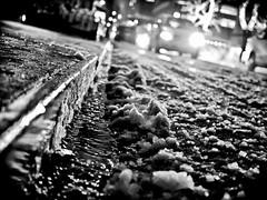 026/365 - January 26, 2011 - Curbside (Shane Woodall) Tags: blackandwhite snow newyork manhattan taxi january 365 curb 2011 project365 silverefexpro olympusepl1 3652011 shanewoodallphotography