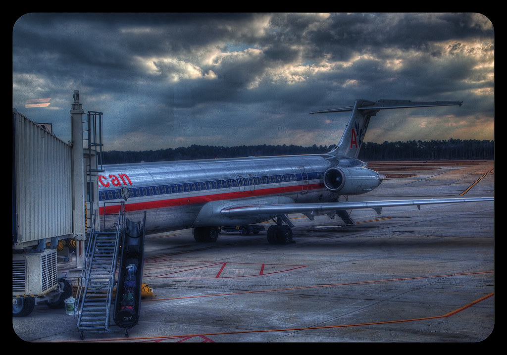 Airplane HDR