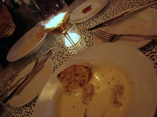 Oyster Stew + Chardonnay