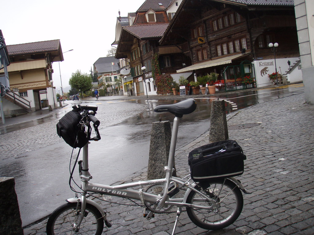 Interlaken, Swiss Bike Touring