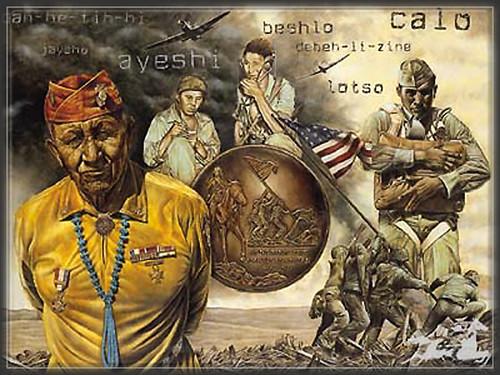Navajo,code,talkers,amerindiens