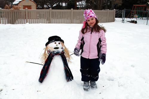 Evy's Snowgirl