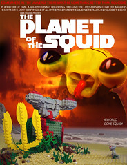 Planet of the Squid (Dave Shaddix) Tags: lego planetoftheapes squidman planetofthesquid squidtronandthefunkyfreshbeat
