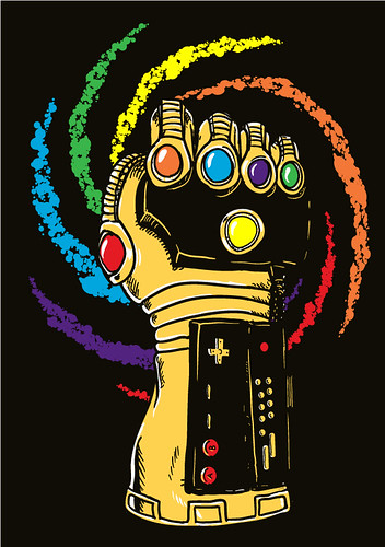 infinity power glovegauntlet