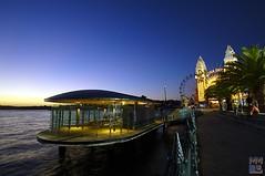 Milsons Point (Macr1) Tags: longexposure sunset water ferry architecture point nikon sydney gimp australia nsw lunapark nikkor milsons milsonspoint macr nikkor1735mmf28 nikond700 markmcintosh macr1