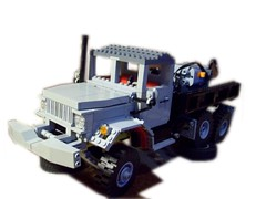 Lego M35 (Ciezarowkaz) Tags: truck power lego jeep technic functions m35