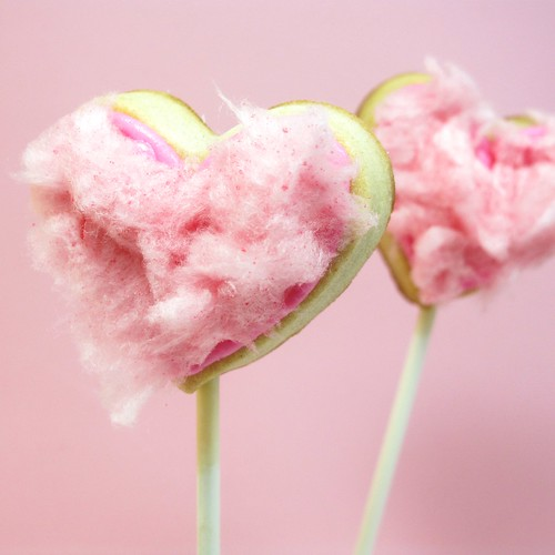 cotton candy cookie pops 1