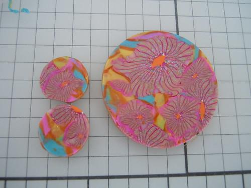 TADA365 031 Swirling Sari pendant