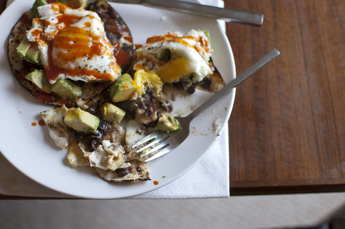 huevos rancheros, sort of