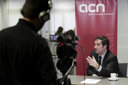 Jordi Hereu a l'ACN