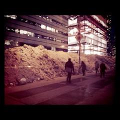 Bonus 365 - NYC Snow Pile