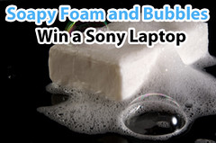 rigid foam insulation sponsor Lenzr soap foam and bubbles photo contest