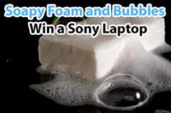 rigid foam insulation sponsor Lenzr soap foam and bubbles photo contest