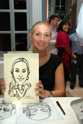 Caricature live sketching for Norden Shipping - 10