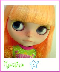 Martina (fergo1986) Tags: doll mango blythe custom martina