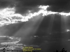 trilogia de rayos luminosos parte 1 (Mex::::::Gabriel:::Parker::::::Arg. 2016 images) Tags: bw color clouds nubes trilogias trilogys nubescontrarayosdeluz