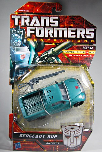 Transformers Generations: Sargeant Kup