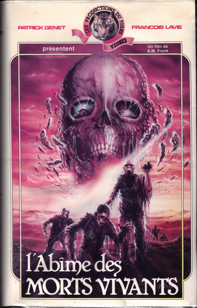 Morts Vivants (VHS Box Art)