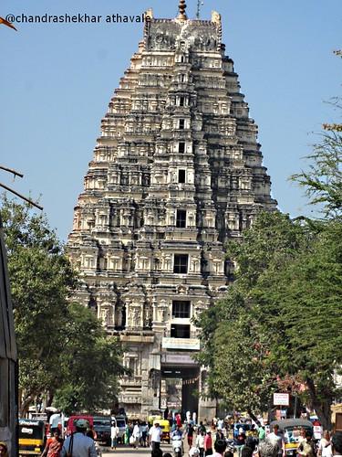 Virupaksh mandir tower