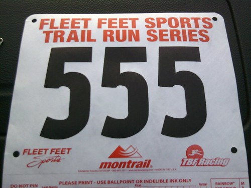 How's this for a bib number?