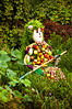 Fruit bodyguard (Martin E. Johansson) Tags: beijing bodyguard fruitman distguise