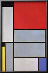 Piet Mondrian - Tableu 1