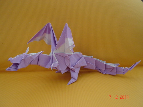 Kade Chan Origami Blog 香港摺紙工作室 (日誌): Fiery Dragon ... | 375x500