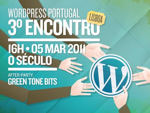 3º Encontro WordPress Portugal em Lisboa